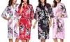 Vestaglia in stile kimono