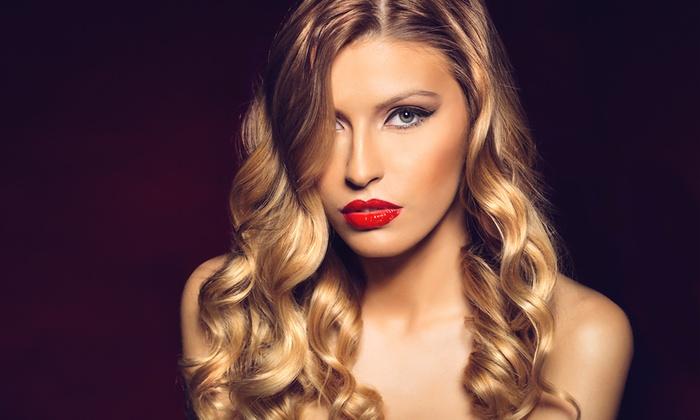 Ellis Hair Salon - Ellis Hair Salon: Deep-Conditioning with Partial Highlights, Full Highlights, or Color at Ellis Hair Salon (Up to 40% Off)
