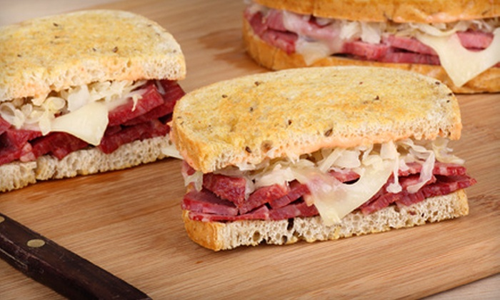 3 Brothers Deli & Brewhouse - Murfreesboro: Sandwiches, Burgers, and Drinks at 3 Brothers Deli and Brewhouse (Up to 52% Off). Two Options Available.
