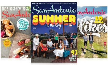 One- or Two-Year Subscription to San Antonio Magazine (Up to 53% Off)