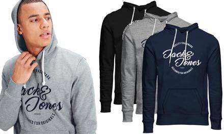 Jack & Jones Originals Men's Printed Hoodie for £24.95