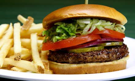$11 for $20 Worth of Burgers, Ribs, Wings, and Roast Beef at Beef 'O' Brady's
