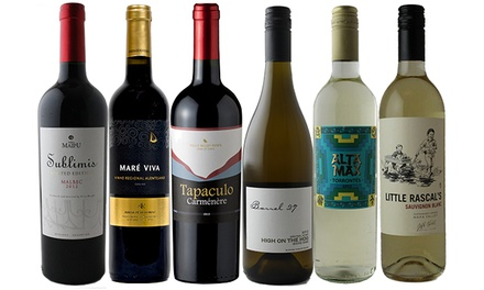 6- or 15-Bottle Discovery Wine Pack with One-Year Membership from Splash Wines (Up to 78% Off)