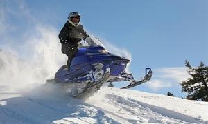 Noguera Aventura: Excursión en moto y raquetas de nieve con barbacoa y opción a alojamiento y cóctel para 1 desde 34€ en Noguera Aventura