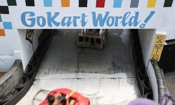 Go kart world carson coupons