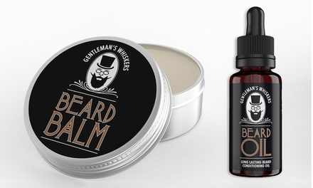 One or Two Gents' Whiskers Beard Oil Bottles or Balms