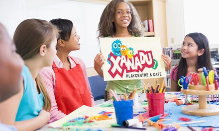 Indoor Play Centre Entry for One $5, Two $8 or Four Children $12 at Xanadu Playcentre and Café Up to $44 Value
