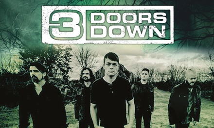 3 Doors Down Live, 2 - 6 November at Bristol, Birmingham, Manchester or London