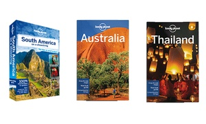 Lonely Planet: Up to Three eBook Travel Guides from Lonely Planet (Up to 79% Off)