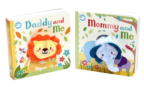 """Daddy and Me"" & ""Mommy and Me"" Book Set (2-Piece)"