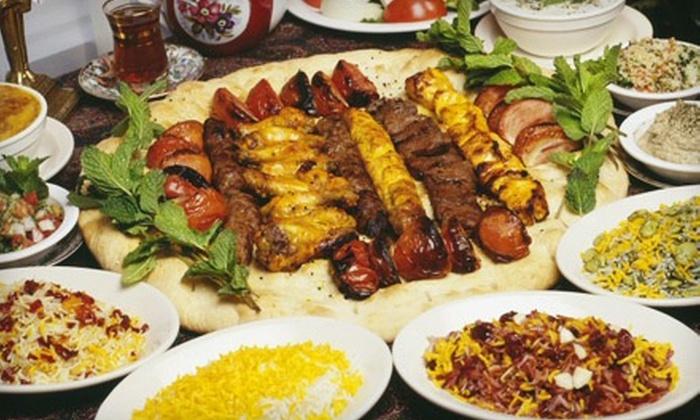 Alborz - North Shoal Creek: $10 for $20 Worth of Persian Dinner Cuisine at Alborz Persian Cuisine