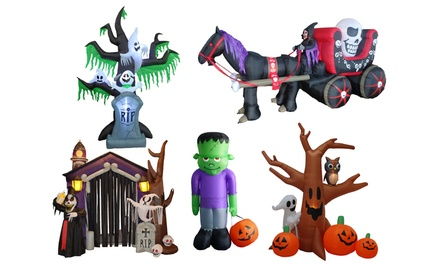 Spooky Halloween Yard Inflatables. Multiple Options Available.