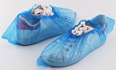 Pack de 100, 300 o 500 cubrezapatos desechables de plástico