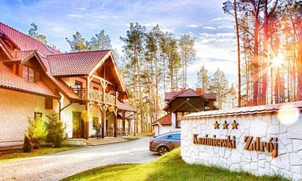Lubelszczyzna: 1-5 nocy dla 2 osób z wyżywieniem, spa i więcej w Hotelu Kazimierski Zdrój