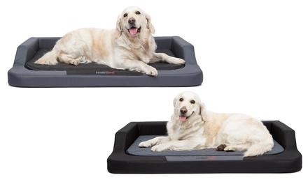 Lettino per cani Hobbydog in memory foam disponibile in 3 misure e 2 colori