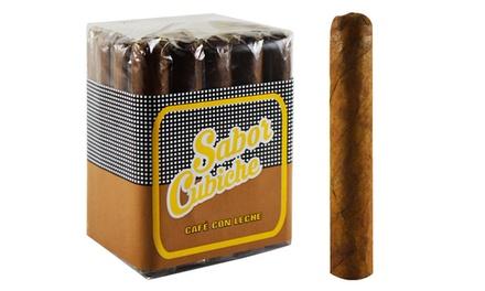 Sabor Cubiche Café con Leche Bundle of 20 Cigars