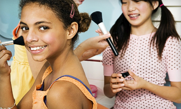Get Posh! Day Spa for Girls - Ocean Walk: Spa Party with Facials, Makeup, and Hair Braiding for One, Two, or Four at Get Posh! Day Spa for Girls (Up to 66% Off)