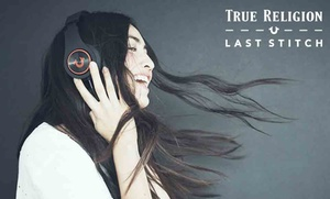 Free Headphones with $250 Purchase at True Religion Outlet Stores  at True Religion, plus 9.0% Cash Back from Ebates.