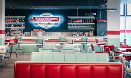 Hamburger e birra da Fonzarelli's a 29,90€euro