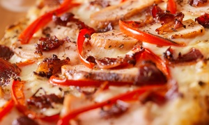 Yesbar: Half-Metre Pizza and Wine or Cocktails for Two or Four at Yesbar (Up to 58% Off)