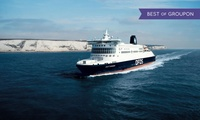 Dover to France: £20 off Ferry Crossings Fare on routes Dover-Calais and Dover-Dunkirk