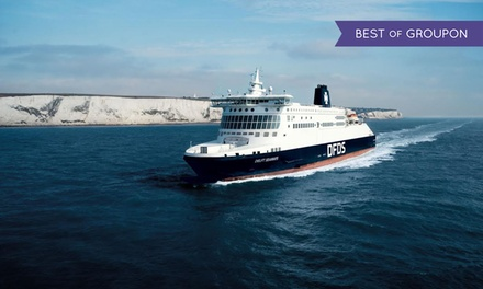 Dover to France: 1- or 3-Day Return Ferry Crossings to Calais or Dunkirk with Prosecco