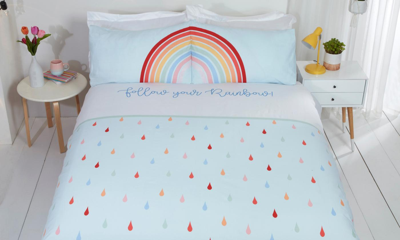 Follow The Rainbow Duvet Set