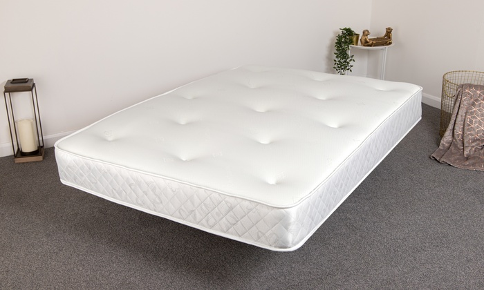 Andrea Hypoallergenic Memory Bonnell SprungMattress from £60 (50% OFF)