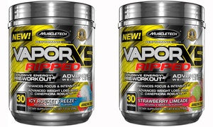 MuscleTech Vapor X5 Ripped Pre-Workout (1- or 2-Pack)