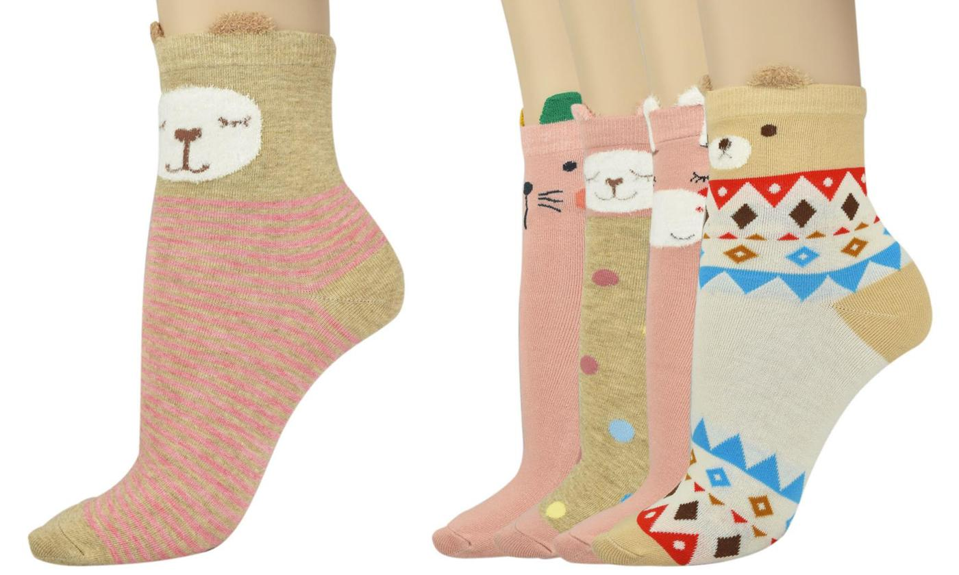 Five Pairs of Women's Socks