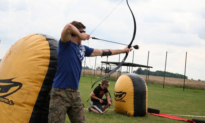Wybitny Gra Arrow Tag dla 8 osób - Paintball Wielkopolska | Groupon FV09