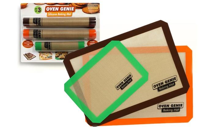 3 silikon back matten groupon goods. Black Bedroom Furniture Sets. Home Design Ideas