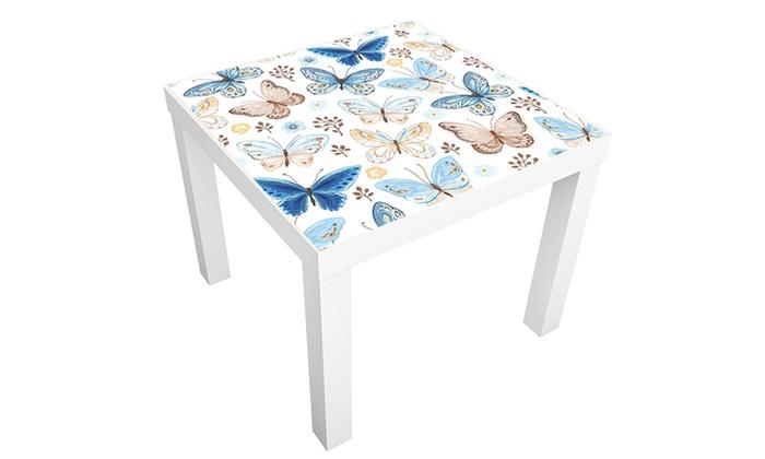 Adesivi decorativi per tavolino lack groupon goods for Adesivi decorativi