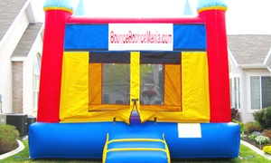 Bounce Bounce Mania: Eight-Hour 15'x15' Bounce-House Rental from Bounce Bounce Mania (50% Off)