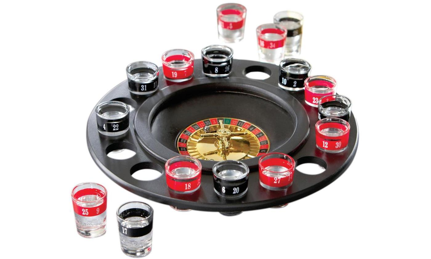One or Two Roulette Drinking Games