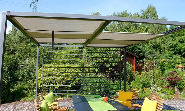 moderne garten pergola groupon goods. Black Bedroom Furniture Sets. Home Design Ideas