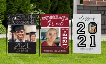 Up to 76% Off Personalized Graduation Garden Flags