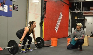 Vanadium Crossfit: 5 or 10 Crossfit Classes or Four Weeks of Unlimited Crossfit Classes at Vanadium Crossfit (Up to 74% Off)