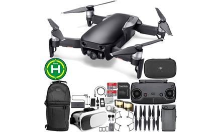 DJI Mavic Air Drone with 4K Camera and Backpack Bundle
