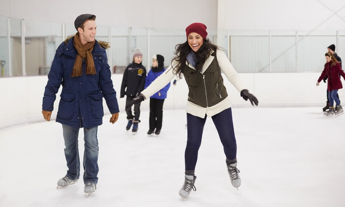Ice Garden - Rostraver: Open Skate for Two or Four with Rentals at Ice Garden (Up to 60% Off)