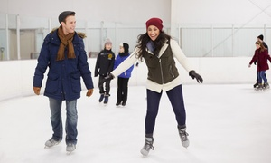Germain Arena: Public Ice Skating Admission with Skate Rental for Two, Four, or Six at Germain Arena (Up to 50% Off)