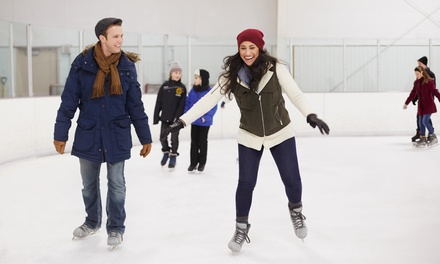 $11 for Ice Skating for Two with Skate Rentals at the Winterhawks Skating Center ($22 Value)