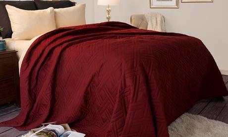 Lavish Home Solid-Color Bed Quilts 14e9eb72-13c0-11e7-b4ab-00259069d868