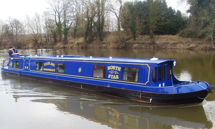 Worcestershire: 3- or 4-Night Boat Hire