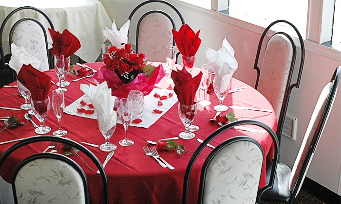 A Floribbean Water Experience - Dinner Key Marina, Coconut Grove: $55 for Valentine's Day Dessert Cruise with Champagne from A Floribbean Water Experience ($110 Value)