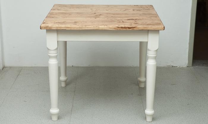 Tavolo in legno massello di tiglio | Groupon Goods