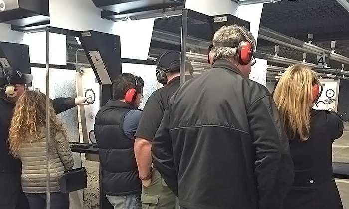 San Diego Firearms Training Center - Poway: Intro to Firearms Package for Two at San Diego Firearms Training Center ($190 Value)