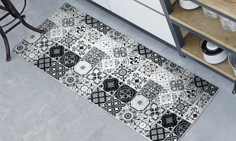 Tapis carreaux de ciment antidérapant