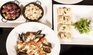 Tapas Food and Drinks for Two or Four at Ibiza Tapas Wine Bar-Hamden (Up to 45% Off)