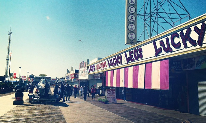 Lucky Leo's - Seaside Heights: $14 for a $25 Play Card at Lucky Leo's